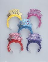 New Year Glitter Fringe Tiara